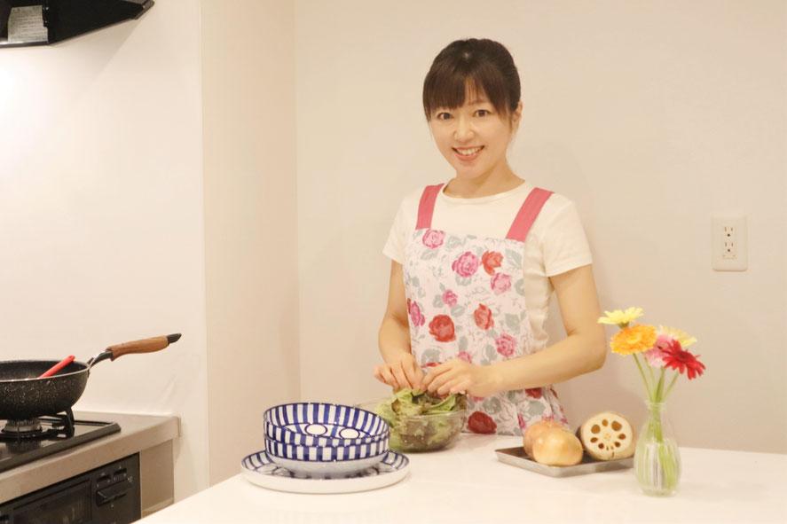 新宿区にある料理教室 エムズ レッスン 料理研究家 山岡真千子