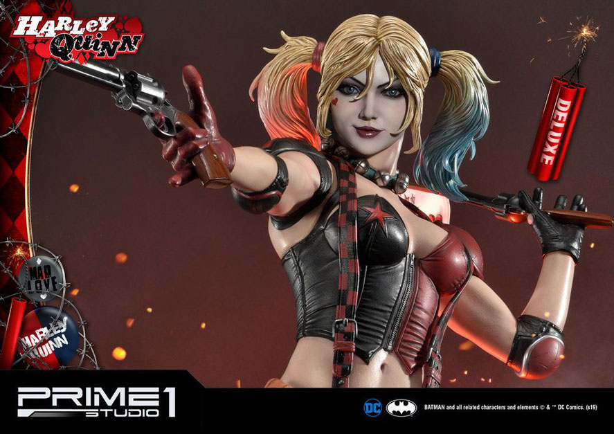 Harley Quinn Deluxe Ver. 1/3 DC Comics Statue 91cm Prime 1 Studio