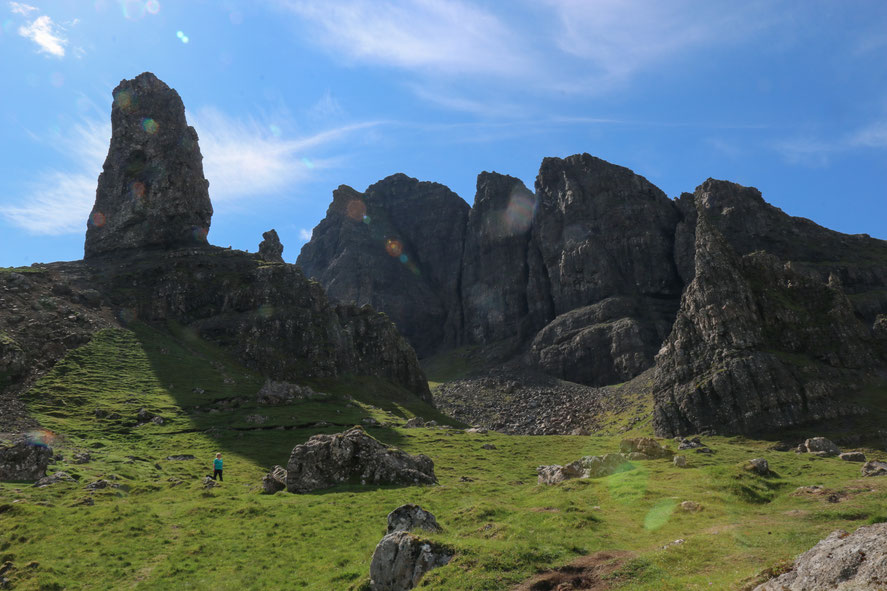 "Der ""Old man of Storr"""