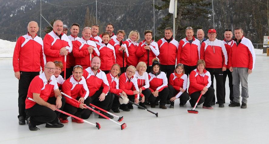 Curling Club Kaltbrunn - Clubfoto - Mach auch du bei uns mit!