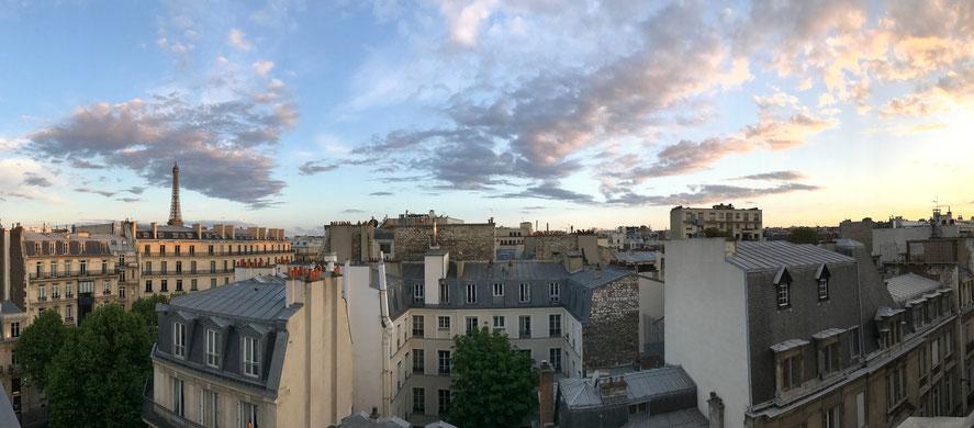 tetti di Parigi Tour Eiffel
