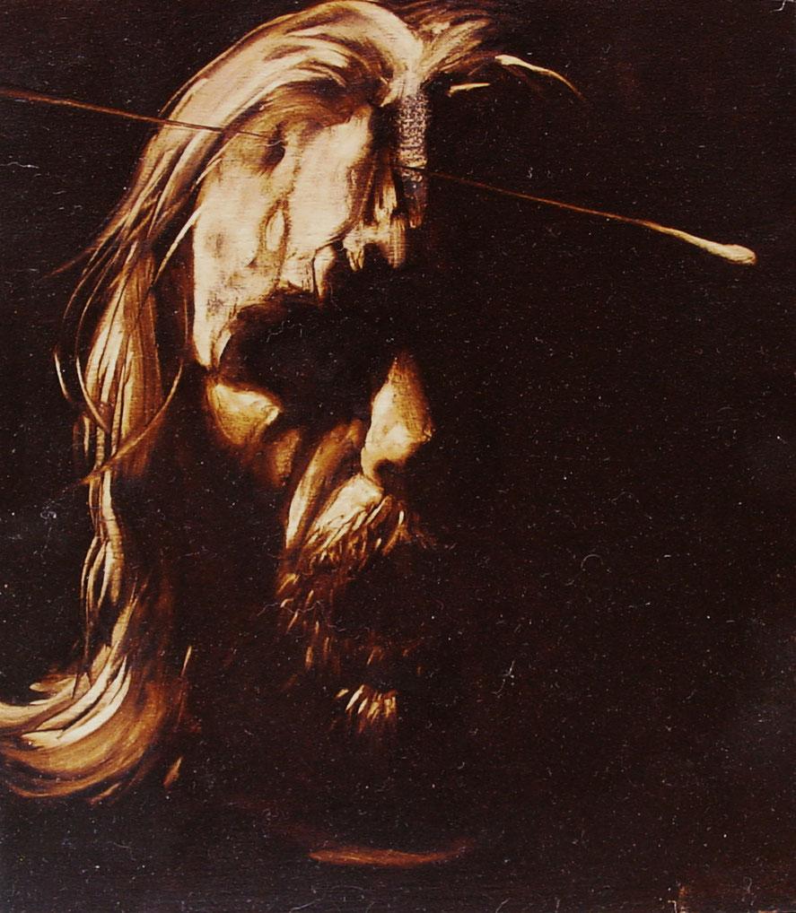 """""""Gesù, Gesù"""" olio su legno (anno e misure: non disponibile)"""