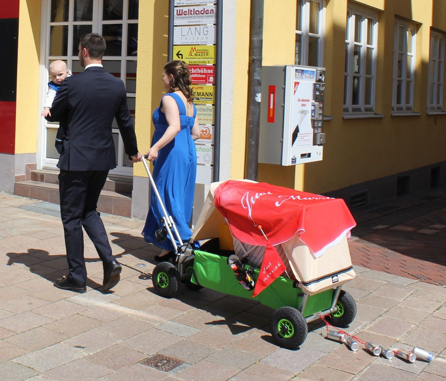ulfBo als Hochzeitskutsche - einmalig