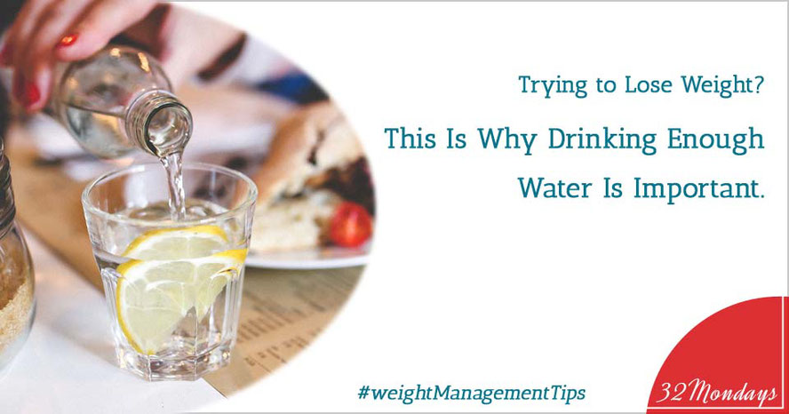 Trying to Lose Weight?This Is Why Drinking Enough Water Is Important.