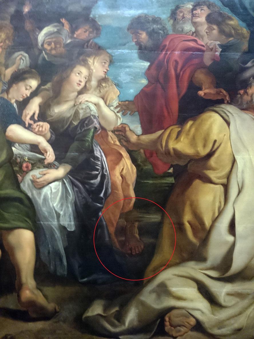 Peter Paul Rubens, Himmelfahrt Mariae, um 1611/1614 - 1621, Kunsthistorisches Museum Wien, Gemäldegalerie, Detail. Foto © sophiefuehrt