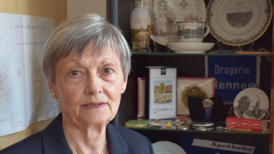 Irene Lühdorff berichtet über den Bau der Kieler Straße.