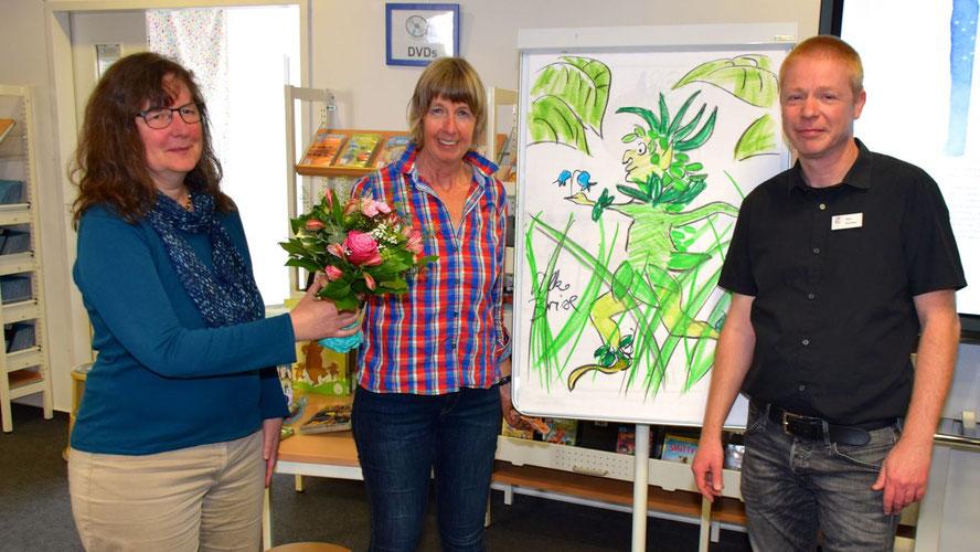 Petra Schüddekopf, Leiterin der Mühlenbergschule, dankte Silke Brix für den motivierenden Vortrag und Klaus Fechner für die Kooperation