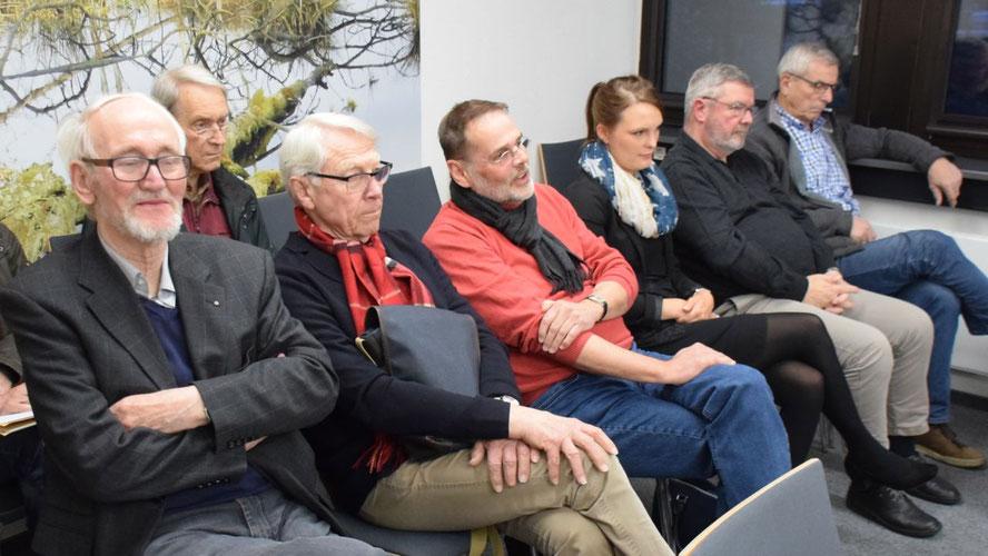 Interessiert hatten senerzeit Mitglieder des Vereins Stadtmarketing die Diskussion im Hauptausschuss über die Finanzierung des Vereins verfolgt