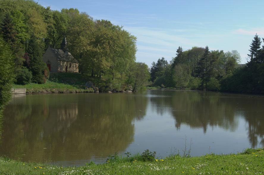 Marigny : un site secret et romantique  © Service Régional de l'Inventaire du Patrimoine de la Région Bretagne
