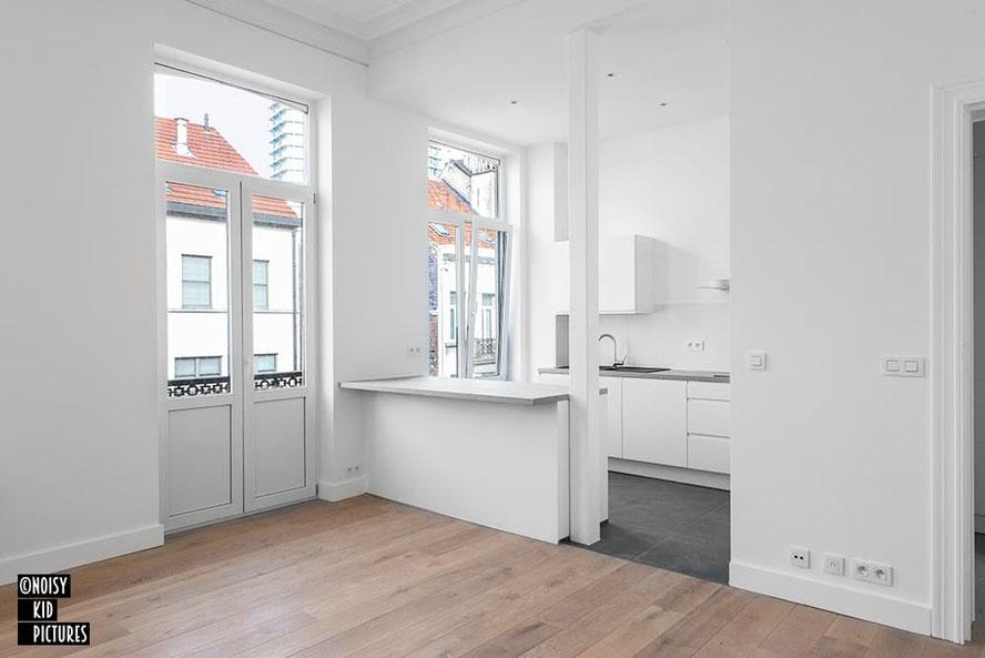 Vende ses biens sur Immoweb, que l´immobilier soit une maison ou un appartement à Bruxelles avec un photographe de Belgique
