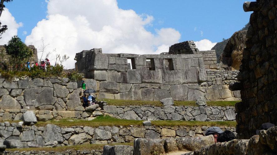 Templo de las Tres Ventanas - Tempel der drei Fenster