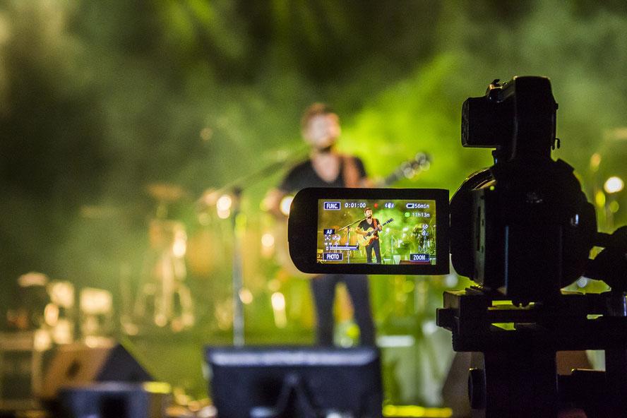 Captation live d'un concert