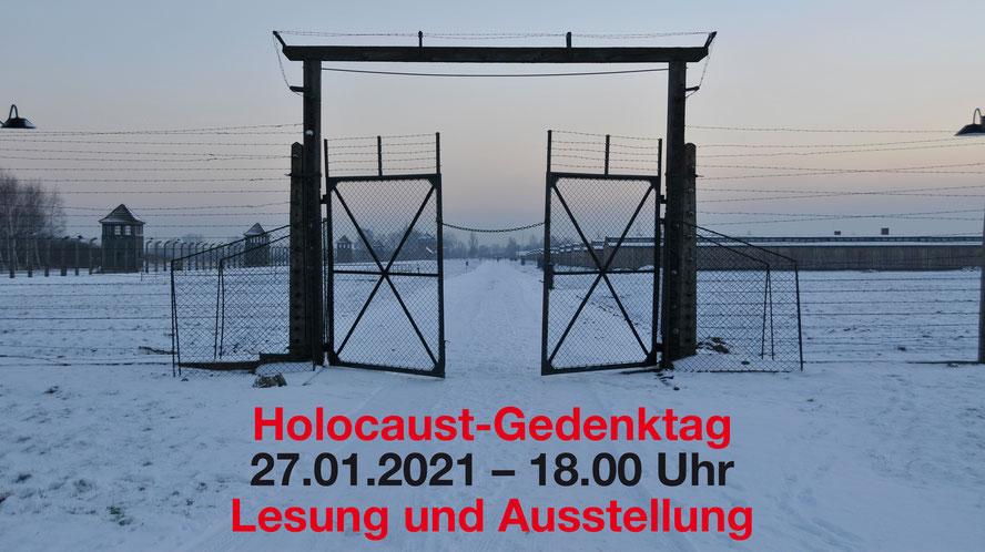 Einen Nebeneingang von Auschwitz/Birkenau macht der Autor und Fotograf zum Titelbild seiner Online-Veranstaltung am 27. Januar. Foto: Olaf Eybe