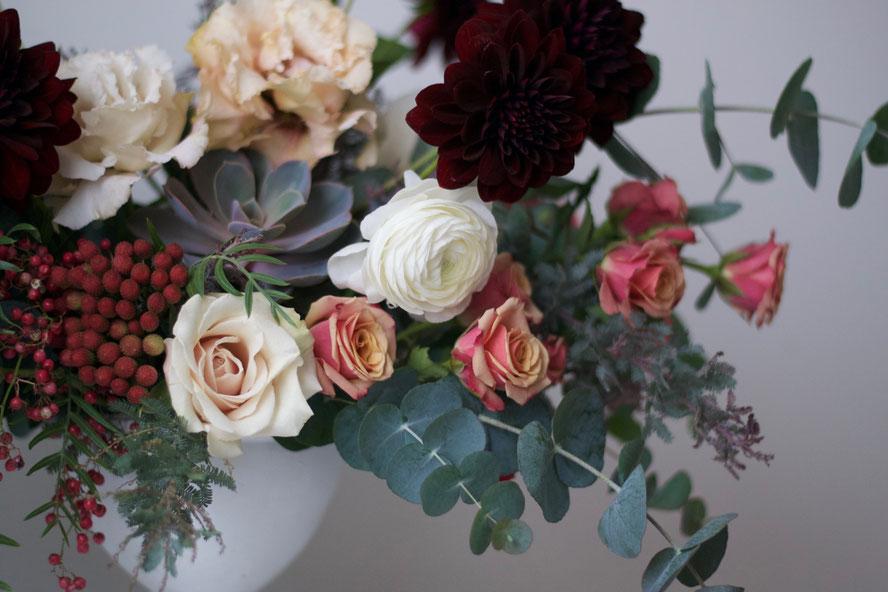 Succulent Centerpiece Closeup
