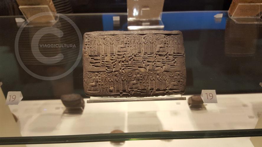 Provvedimento giurisdizionale, XX sec. a.C. - Kültepe - Kanesh (Museo delle Civiltà Anatoliche - Ankara)