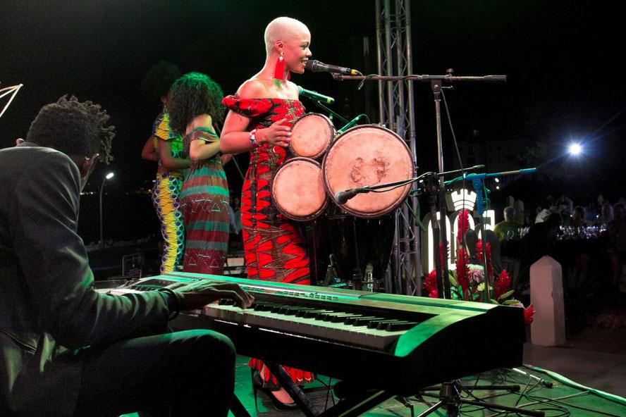 Viena šiuolaikinių Kubos dainininkių Brenda Navarrete / Foto: Kristina Stalnionytė