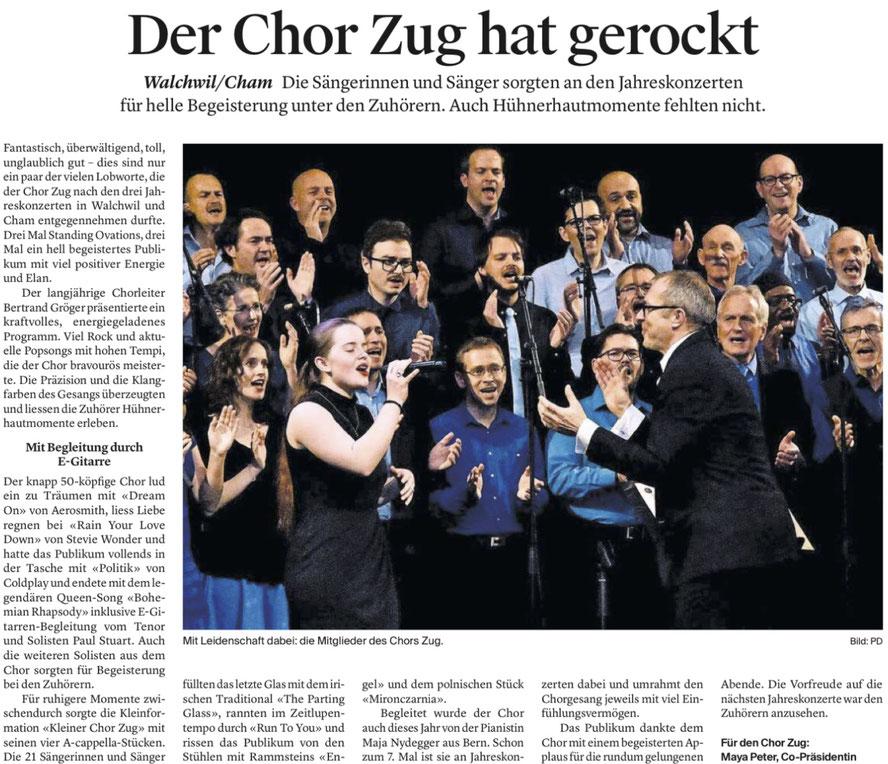 Zuger Zeitung, 13.12.17
