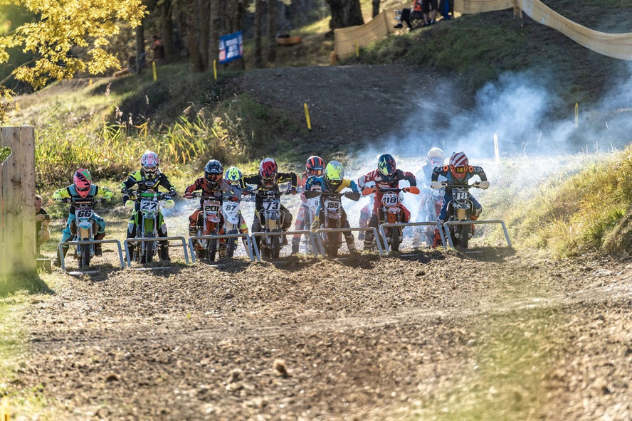 MX Jugendcup am Startgatter