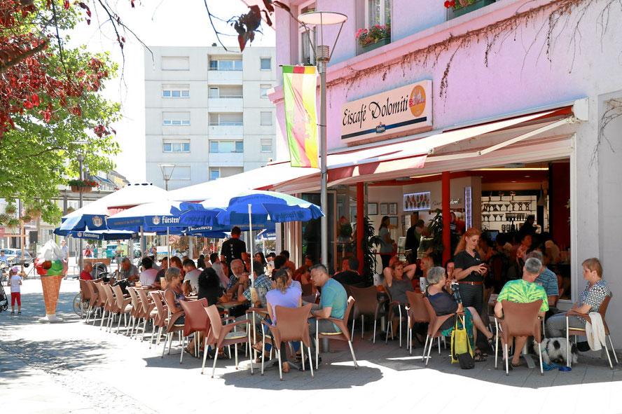Eiscaf caf eiscafe und cafe in 79618 rheinfelden baden for Freibad rheinfelden baden