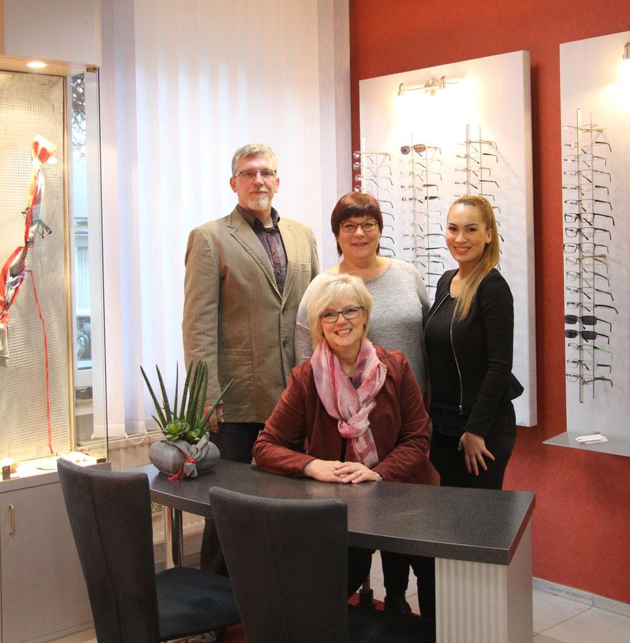 Das Team von Optik Deppe