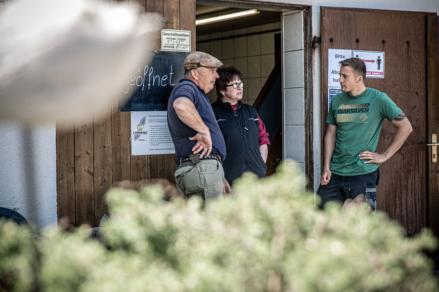 Fischzucht Fischer Fisch Forellenzucht Simon Salgen Unterallgäu Allgäu Hofladen