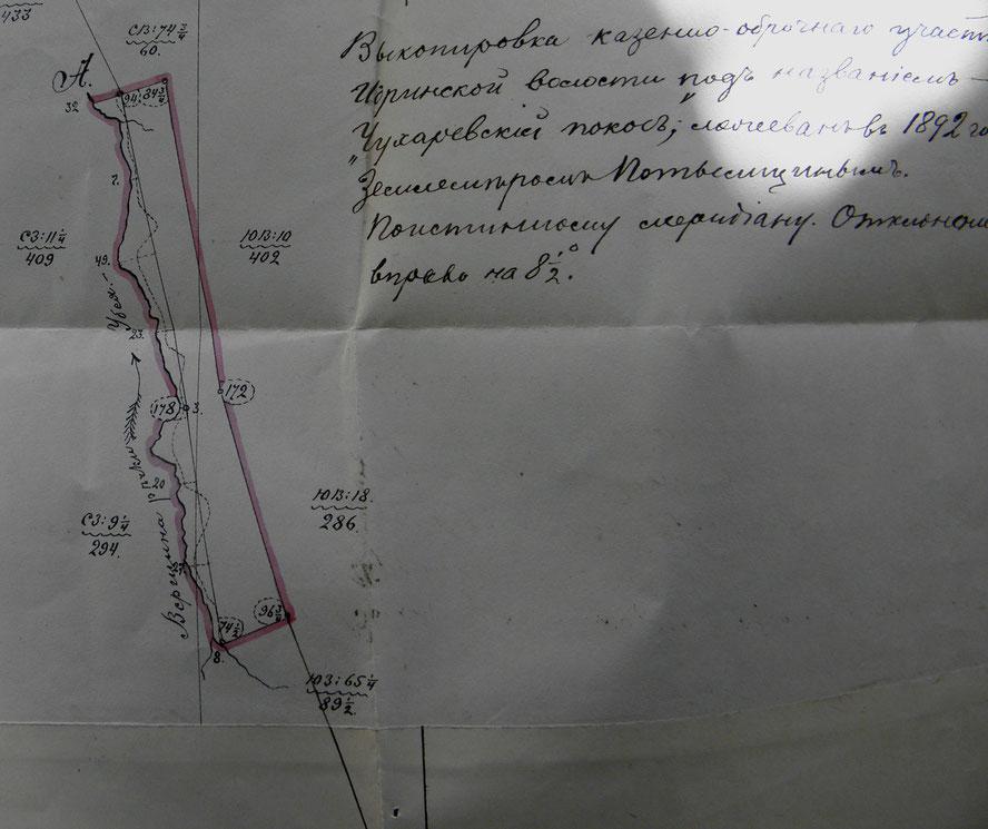 Покос Чухарёвский 1892 год