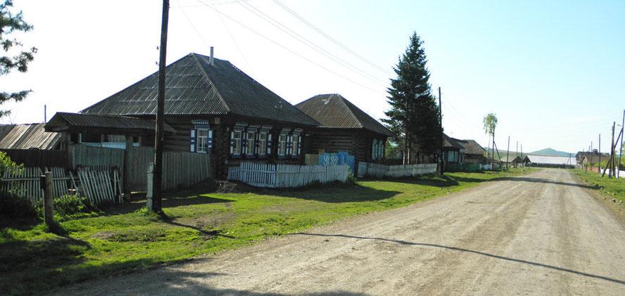 Дом Елисеевых с. Екатериновка 2012 год