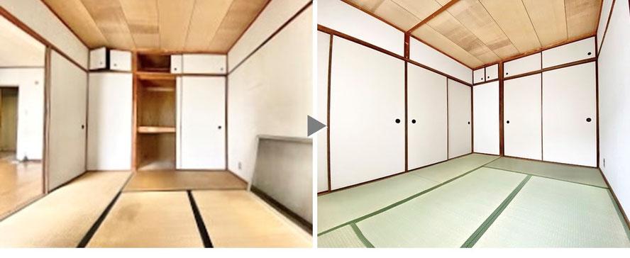大阪の原状回復工事 賃貸 リフォーム 光触媒 石井装飾