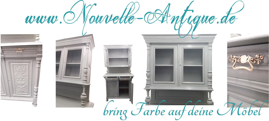 infos zu m bel streichen mit kreidefarbe annie sloan chalkpaint bei novelle antique mit. Black Bedroom Furniture Sets. Home Design Ideas