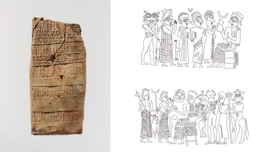 Registrazione di una causa legale, XX sec. a.C. - Kültepe - Kanesh  (British Museum - Londra)
