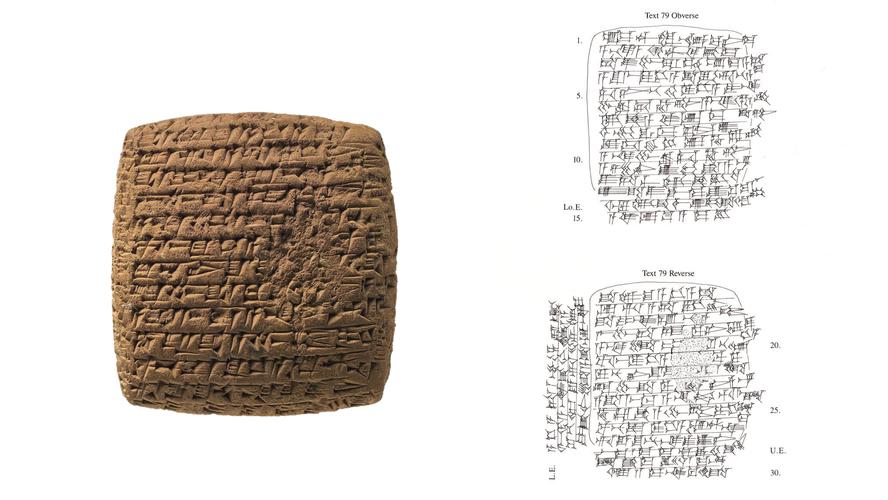 Lettera d'amicizia,  XX sec. a.C. - Kültepe - Kanesh (Museo delle Civiltà Anatoliche - Ankara)