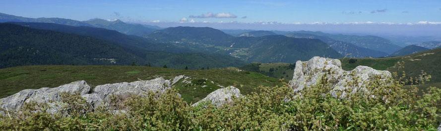 randonnées Pyrénées orientales, gorges de la caranca