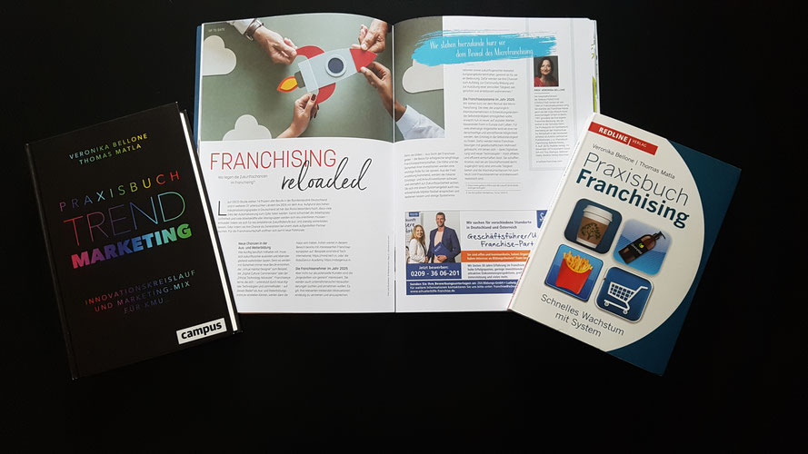 Franchising reloaded, ein neuer Artikel von Prof. Veronika Bellone im neuen Franchising Connect © Bellone Franchise Consulting GmbH 2019