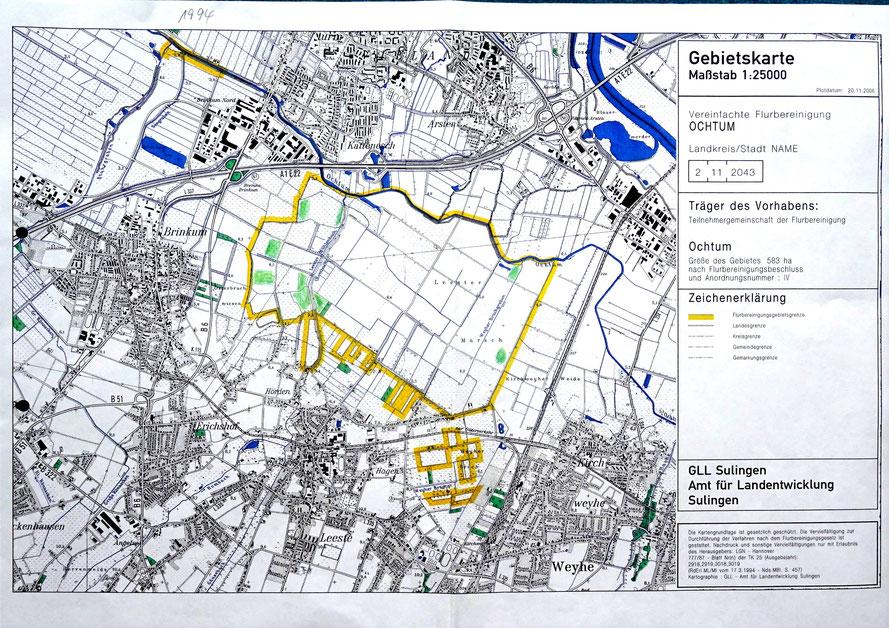 Verkopplung Ochtum (Teil der Verkoppelung Kirchweyher See 1998 – 2011)