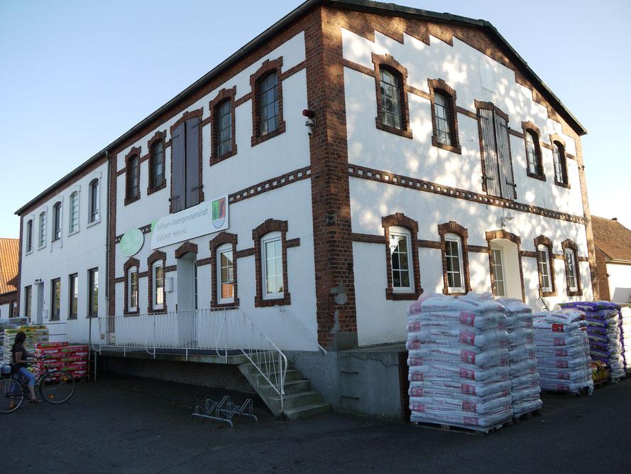 Raiffeisenmarkt : Verkaufsstelle an der Raiffeisenstraße (bis 2011)
