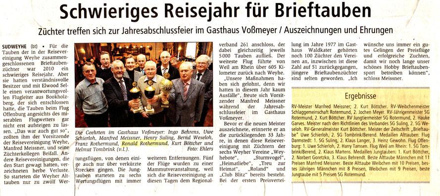 Kreiszeitung 2010