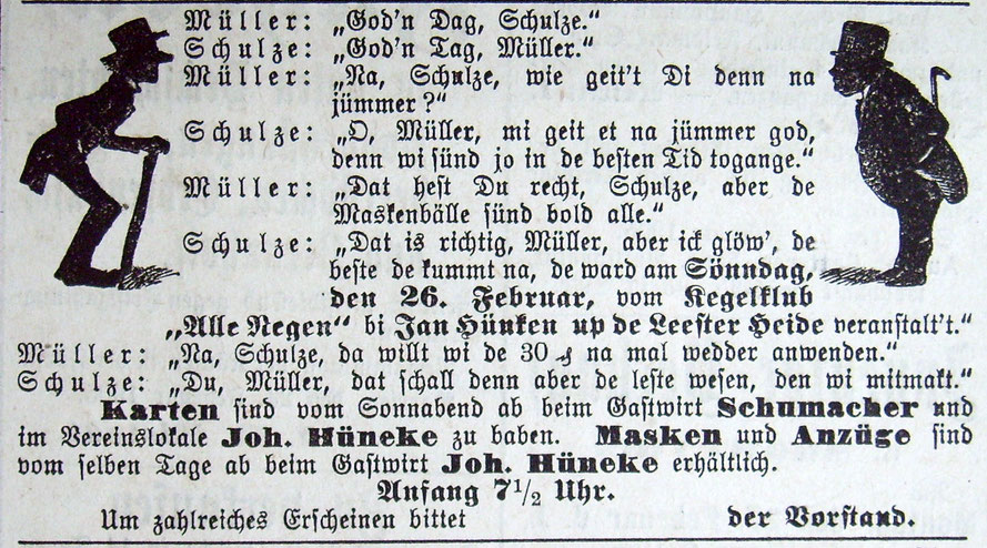 Syker Zeitung 25.02.1905