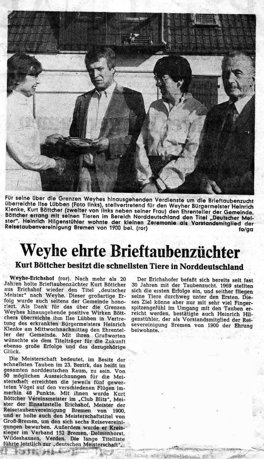 Regionale Umschau v. 2. Oktober 1981