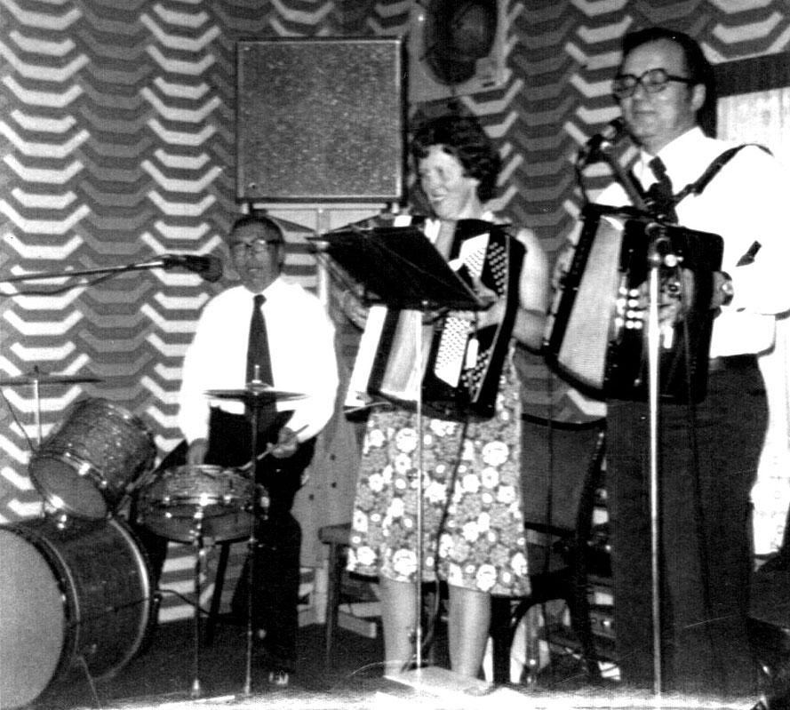 Heinz Hoppe, Margret Bolte, Georg Wydra/Foto: Repro Heinz Tödtmann