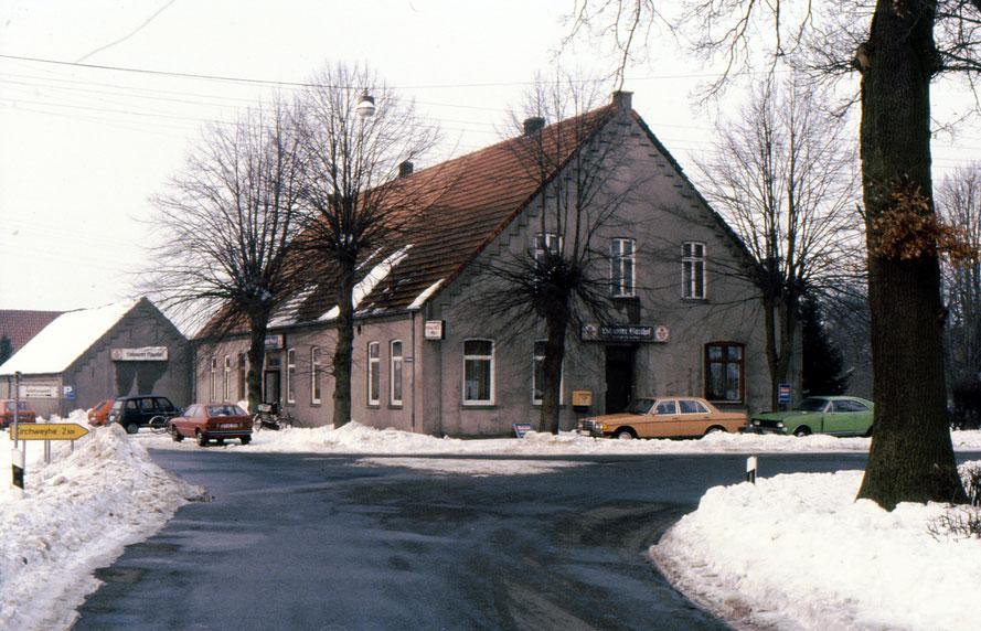 Der Lahauser Gasthof im Jahr 1979 Foto: W. Meyer