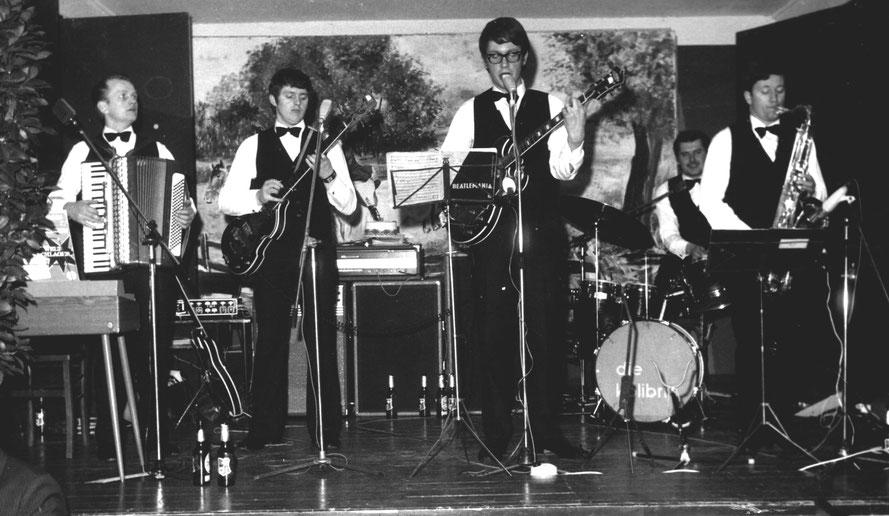 v.l.n.r.: Helmut Dettmer, Heinz Tödtmann, Werner Schierenbeck, Manfred Lorenz, Walter Schofeld/Foto: Repro Heinz Tödtmann