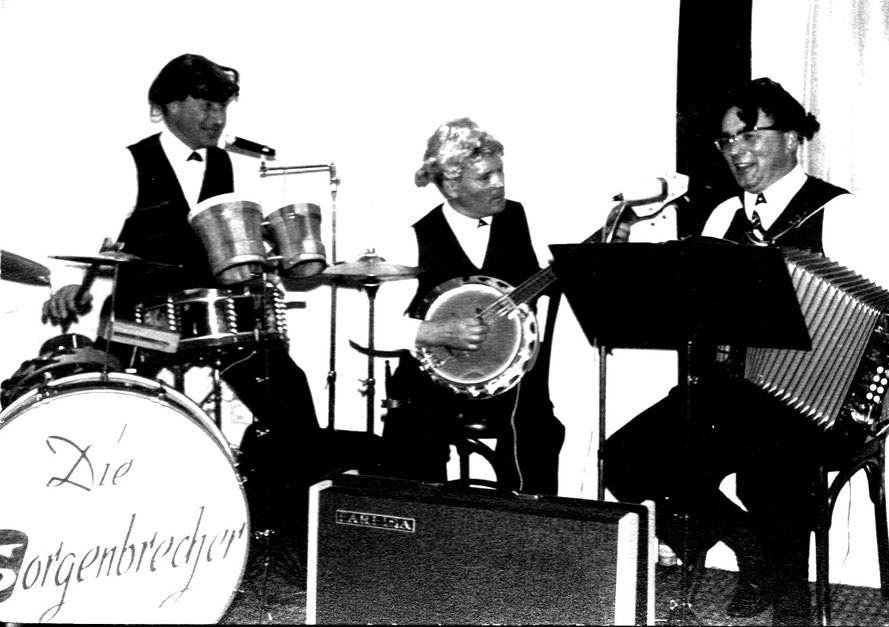 Manfred Jüptner, Hannes Bier, Georg Wydra/Foto: Repro Heinz Tödtmann