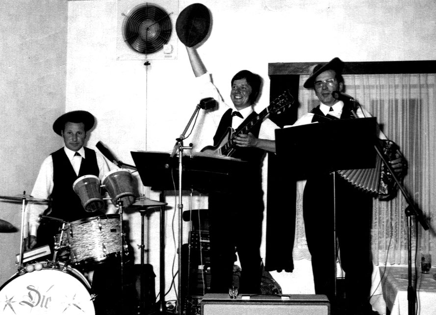 Manfred Jüptner, Beatle-Helmut, Georg Wydra/Foto: Repro Heinz Tödtmann