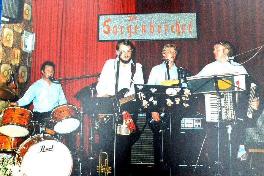 Manfred Jüptner, Peter Leskow, Peter Thoms, Helmut Dettmer/Foto: Sorgenbrecher