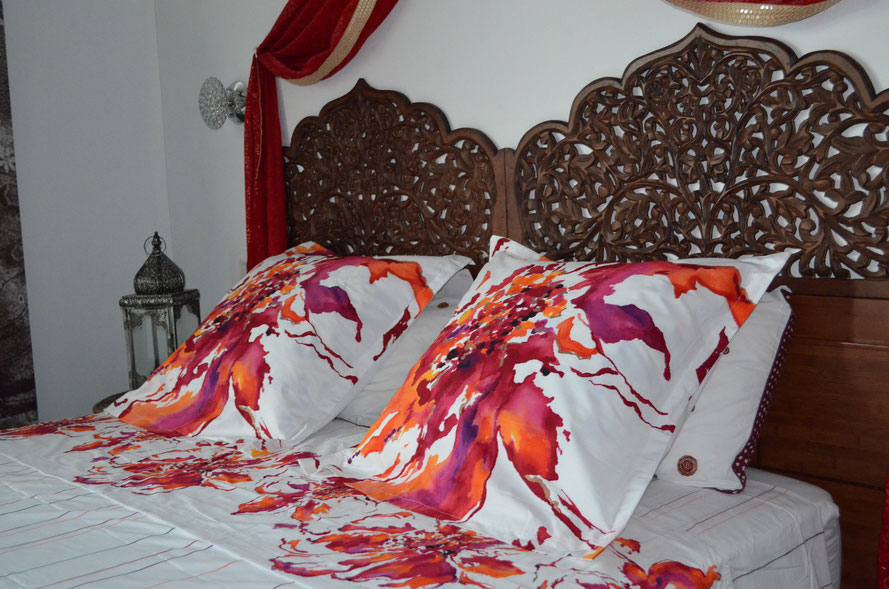 Royal Kandyen is our Suite ,with two bed bedroom and a living area couch  private bathroom walking in wardrobes   ,