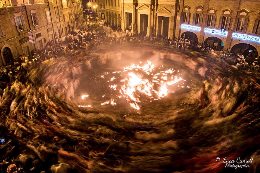 "Dantedì ~ ""Girone Inferno Dantesco"", reportage ""Carnevale Storico Offida - Vlurd 2019"""