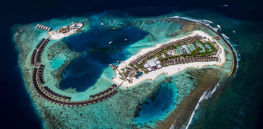 """hier günstige Angebote Malediven Urlaubsreisen ins Baa-Atoll """"Insel Dreamland The Unique Sea & Lake Resort"""" mit Flug buchen sowie weitere Malediven Knüllerreisen 2018 2019"""