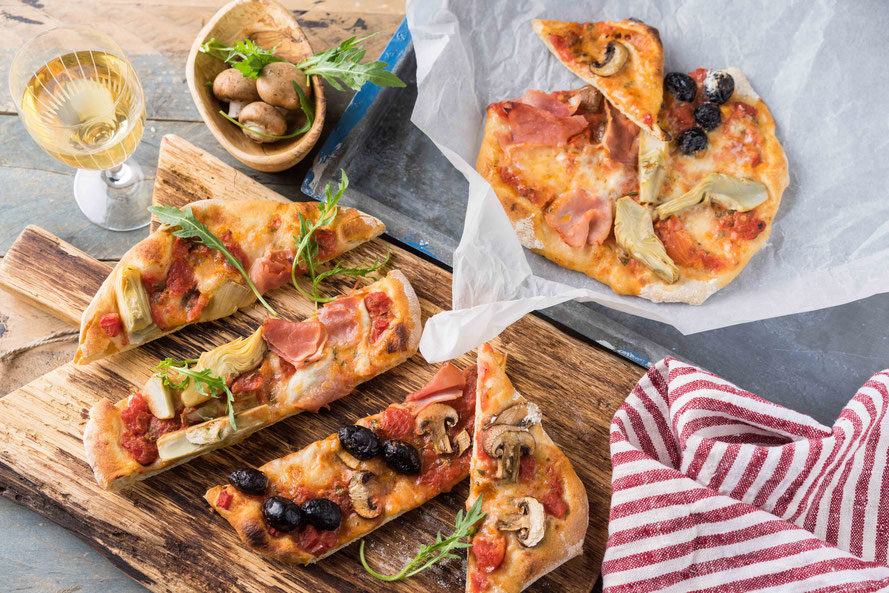 Food-Fotografie Pizza