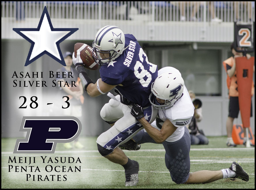 Yuta Hayashi scored all four Silver Star TDs - Chris Pfaff, Inside Sport: Japan, May 7, 2017