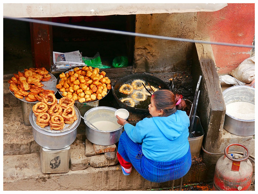 Kathmandu is a good place for any street food fan